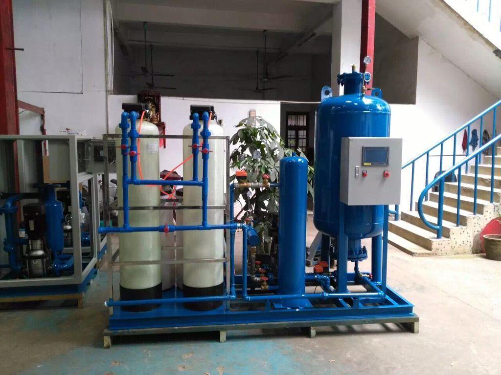 全自动软化水真空排气补水装置